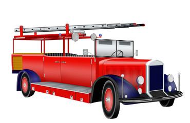 Feuerwehrauto, Leiterwagen