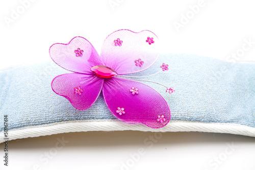 Schmetterling auf Massageband