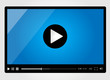 Video player for web, minimalistic design - 50967889