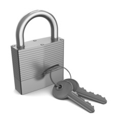 lock with keys