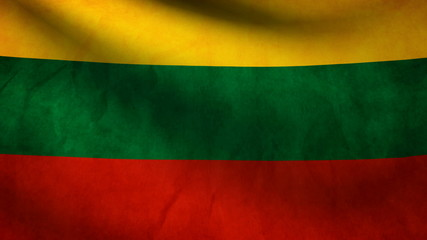 Republic Lithuania flag.