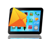 envelope andl tablet