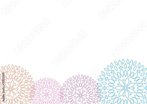 Blumen abstarkt