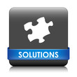 SOLUTIONS Button (business ideas innovation team management)