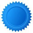Blue star seal