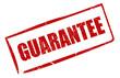 Vector rectangular guarantee stamp