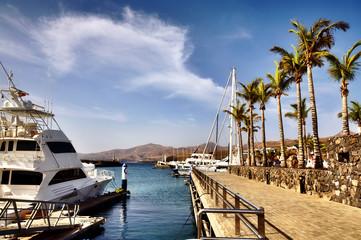Puerto Calero in Lanzarote