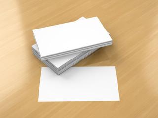 Business cards blank mockup