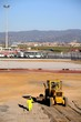 Bulldozer, Malaga airport, Spain © Arena Photo UK