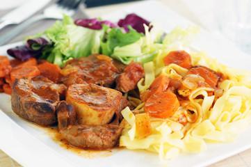 osso buco carottes et tagliatelles 5