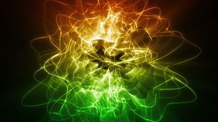 Dynamic Energy Swirl Background
