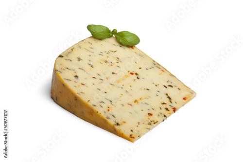 Garden herb cheese
