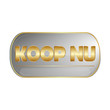 Koop Nu - silver web button for dutch websites