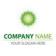 Logo natur bio grün