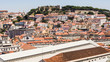 A view part of the city of Lisbon, Portugal.