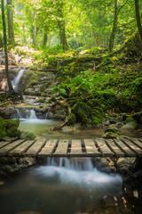 Sanang manora Waterfall, Phang Nga, Thailand