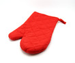Oven mitt on white background