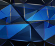 blue grey wallpaper Geometric background vector eps