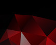 Black red Geometric background vector eps