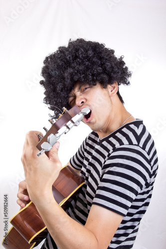 Guiter player rock you