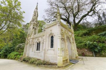 Chapel in Quinta da Regaleira, Sintra, Portugal.