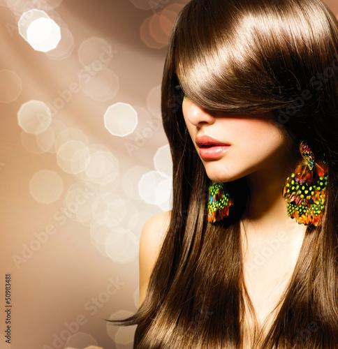 Fototapeten,haare,schön,braun,lang