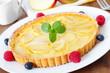 apple tart - Apfeltarte
