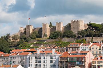 Lisboa - Castelo vista do elevador Santa Justa