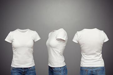 blank feminine t-shirt