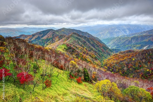 Landscape in Nikko National Park, Japan