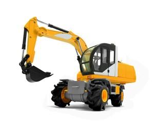 Modern excavator machines