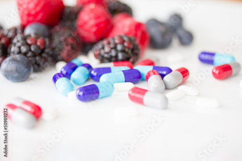 Berries and pills