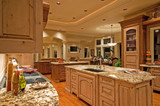Beautiful Kitchen in Luxury Home