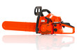 Gasoline-powered chainsaw