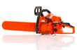 Gasoline-powered chainsaw