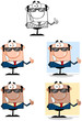 Business Man Cartoon Characters. Collection 7