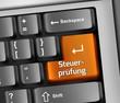"""Keyboard Illustration """"Steuerprüfung"""""""