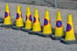 Line of no waiting Cones