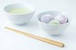 Japanischer Tee mit Daifuku