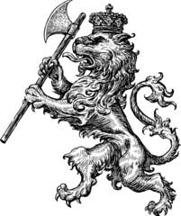 armorial lion