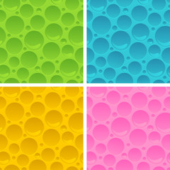 Collection of abstract seamless patterns.