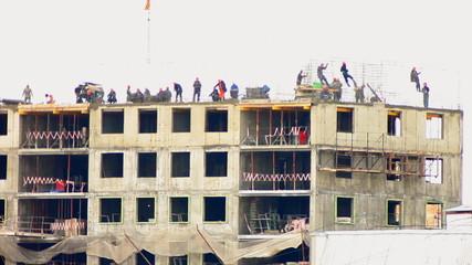 Construction of multi-storey buildings