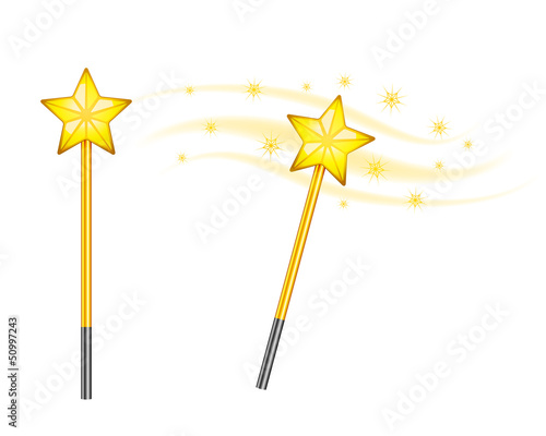 Star magic wand