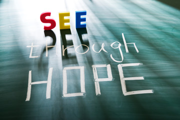 See through hope