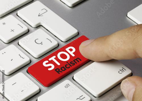 STOP racism Keyboard