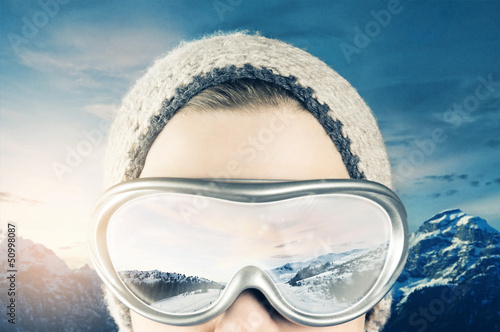 Wintersports Canvas Print