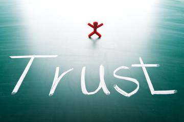 I trust concept