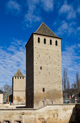Hans von Altenheim and Henry Towers (1230). Strasbourg, France
