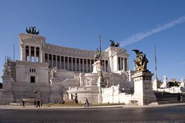 Wahrzeichen Italiens Vittorio Emanuele Denkmal