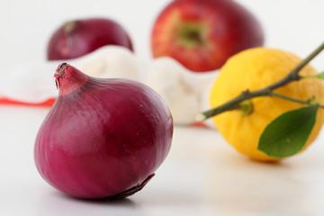 cipolle e frutta